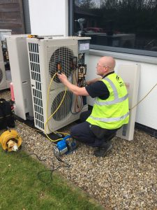 Air Conditioning Installation Outside